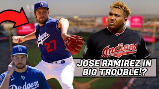 Jose Ramirez Getting SUSPENDED!? Trevor Bauer Eyes Closed Strikeout, Bobby Witt Jr (MLB Recap)