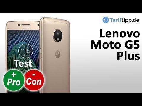 Lenovo Moto G5 Plus | Test Deutsch