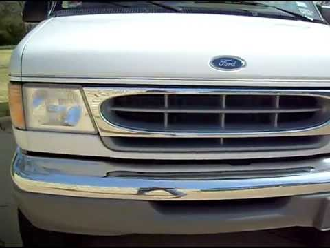 2001 Ford E 350 4x4 Van 4WD Quigley Conversion For Sale
