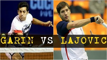 Christian Garin vs Dusan Lajovic | SF Le Gosier ATP Challenger 2018