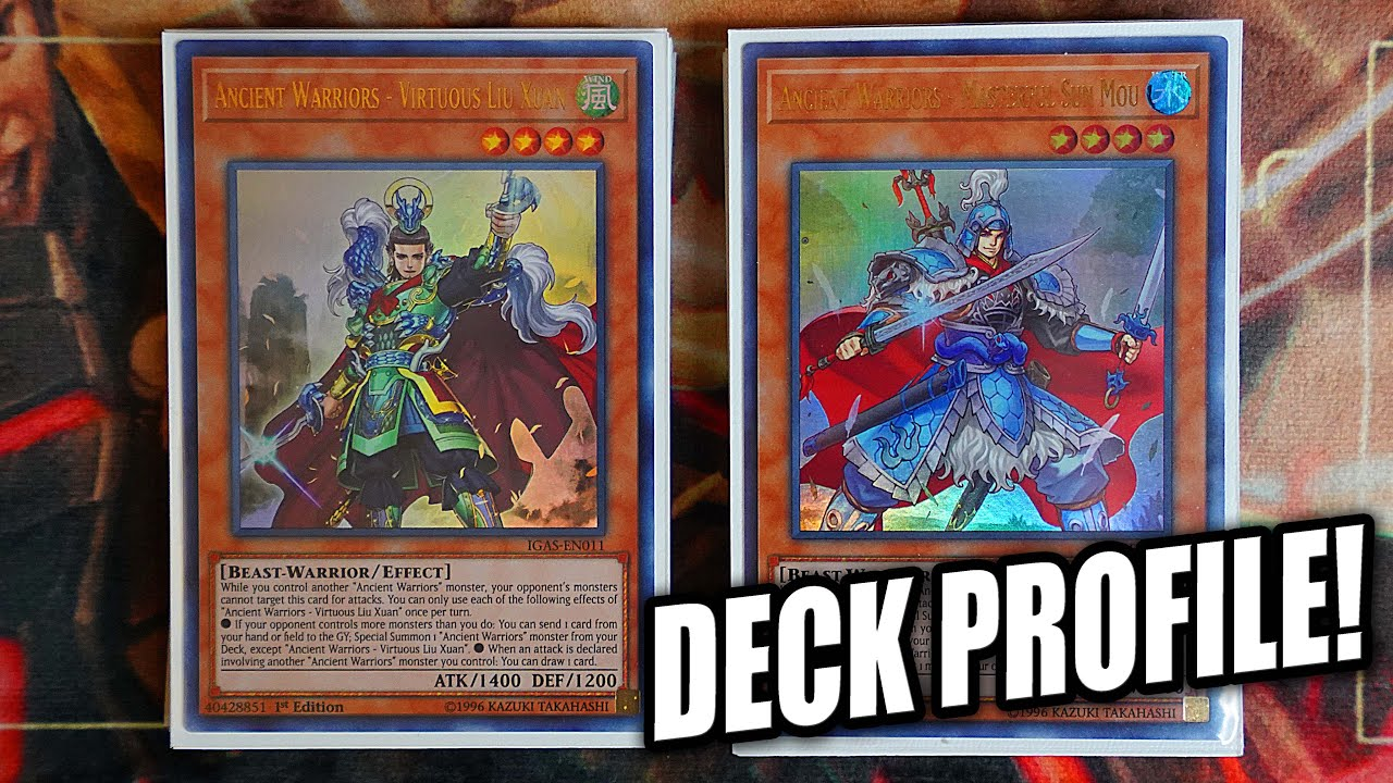 Yu-Gi-Oh! Complete Ancient Warriors Deck