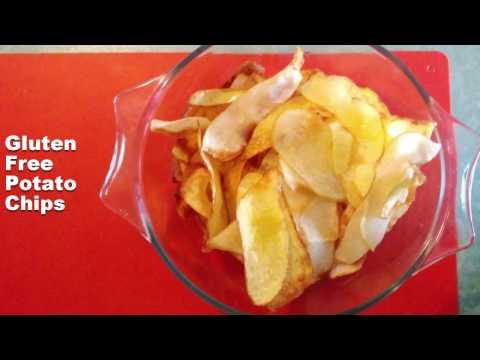 Crisps. How to make Gluten-Free potato chips