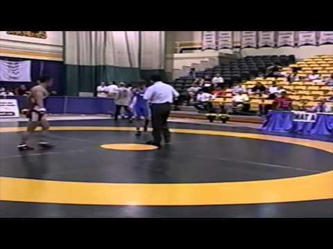 2002 World University Championships: 60 kg GR Bronze Lin Uey Ai (CHN) vs. Jarkko Ala Huikku (FIN)