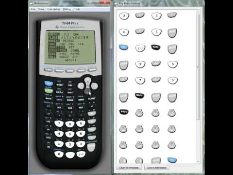 Ti Ti 84 Calculator How To Use