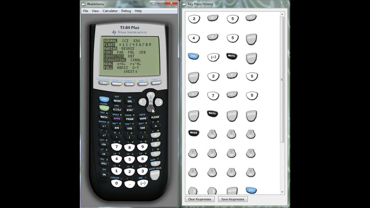 Ti 84 tutorial fractions youtube ti 84 tutorial fractions ccuart Gallery