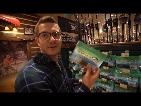 Clueless Fisherman Picks the Lures - $30 Bass Pro Challenge