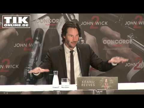 """John Wick Kapitel 2"": Keanu Reeves plaudert Privates! PK in voller Länge!"