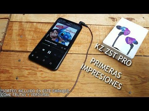 Audifonos KZ ZST Pro : Primeras impresiones... pasan.  Come frutas y Verduras.