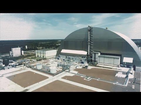 Опубликовано видео нового саркофага над Чернобыльской АЭС