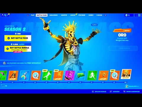 Fortnite - Season 2 | Battle Pass Skins