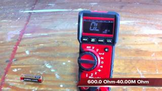 Milwaukee Digital Multimeter 2217-20 - Review - Tools In action