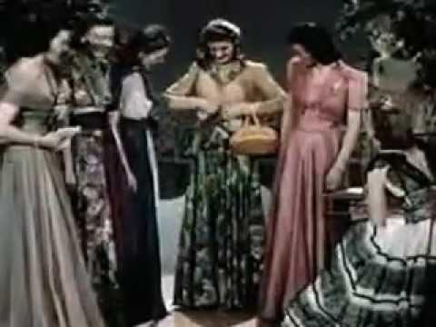 Abiti Eleganti Anni 40.Cortometraggio Su Moda E Costume Negli Anni 40 Youtube