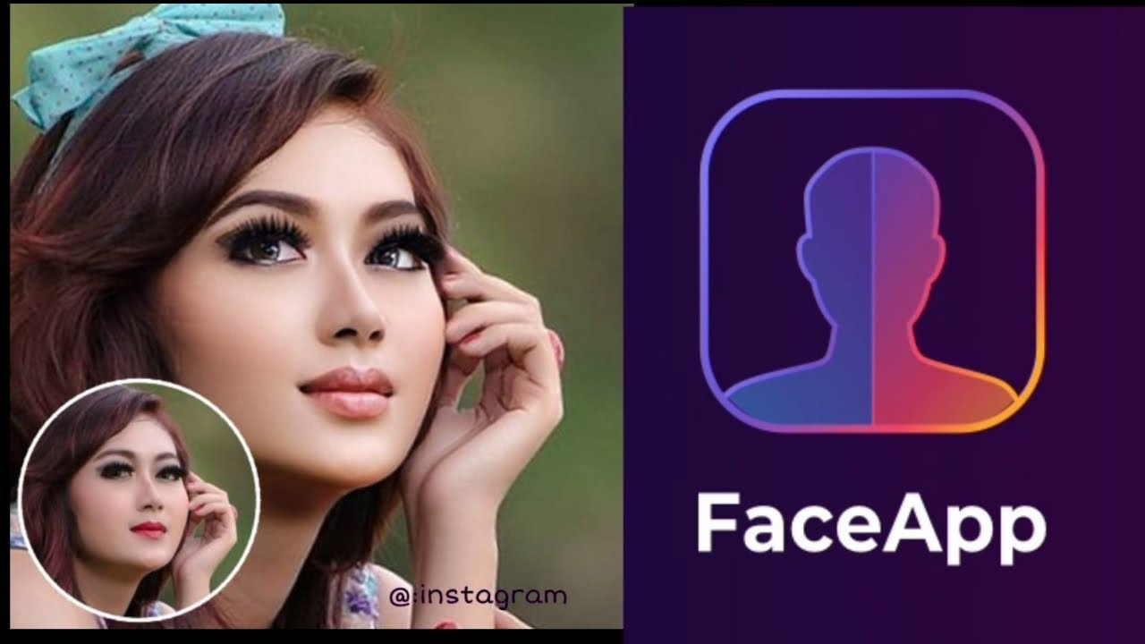 Cara edit foto oplas challenge tanpa watermak #FaceApp ...