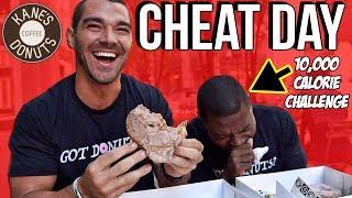 Wicked Cheat Day #19 | Boston, MA | CoachKibira VS 10,000 Calorie Challenge