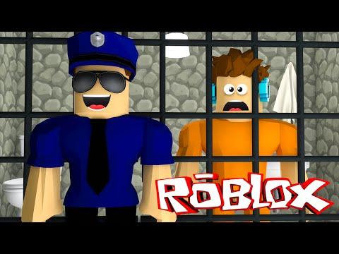 Roblox - O AUTHENTIC FOI PRESO !! (Roblox Redwood Prison)