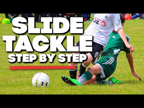 Soccer Tips ► How To Slide Tackle In Soccer