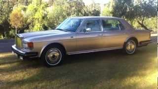 1983 Rolls Royce Silver Spur Test drive