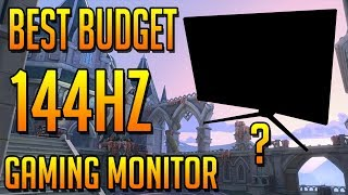 Best Budget 144 Hertz Gaming Monitor? (MSI Optix MAG241C Review)
