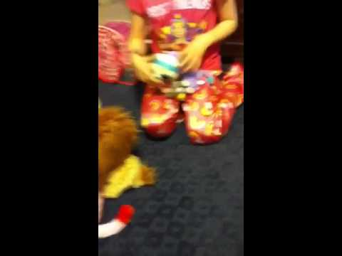 Singing stuffed animals contest