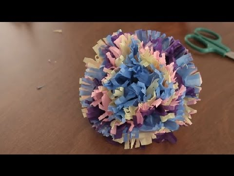 How To Make Paper Hawaiian Flowers Paper Art Projects Youtube