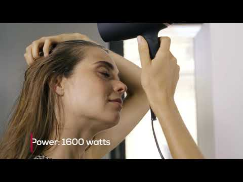 Product video HC 25 travel hair dryer