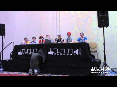 MAGFest 2016: American Ninja Warrior Competitors Panel - GAMER STRONG!!!
