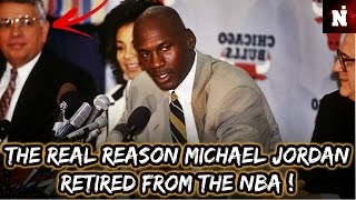 The Real Reason Michael Jordan Retired From The NBA !