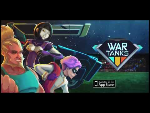 War Tanks - Multiplayer game release Trailer (iOS/Android)