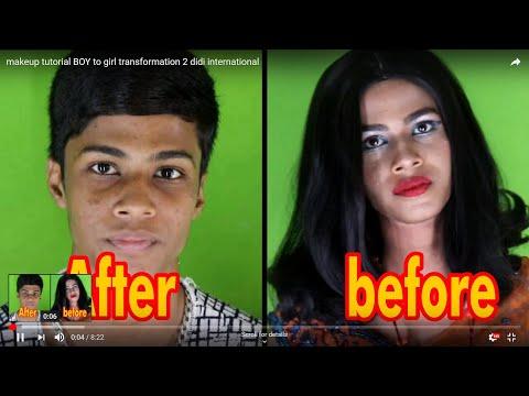 Makeup Tutorial Boy To Girl