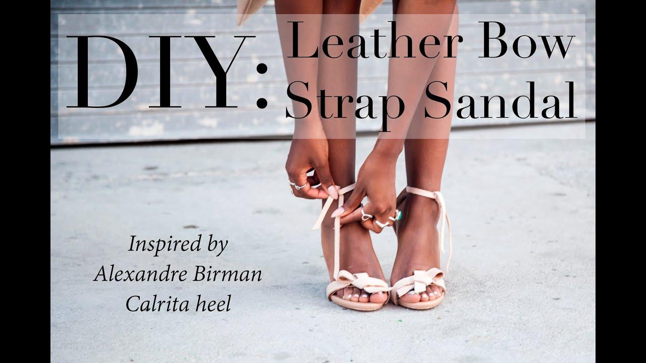Alexandre Birman Leather T-Strap Sandals footlocker finishline online hOOwJ