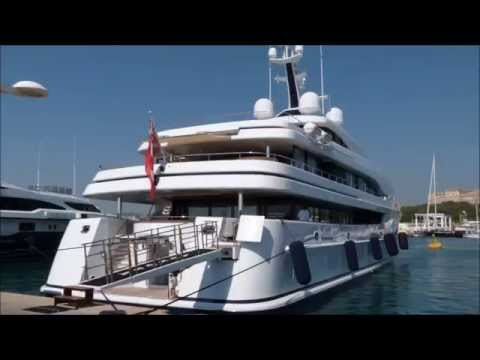 Charles Wang and his Crazy US$ 55 Million SuperYacht Aurora