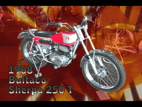 Clymer Manuals 1968 Bultaco Sherpa 250 T Trials Vintage Classic Retro Motorcycle Manual Video