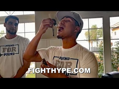 MIKEY GARCIA UNVEILS POUND FOR POUND CBD VENTURE; RINGSIDE TICKET GIVEAWAY TO SPENCE SHOWDOWN