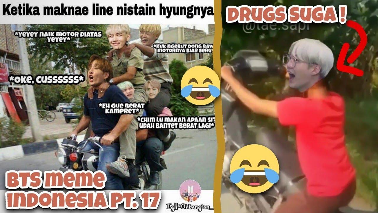 Bts Meme Indonesia Pt 17 Video Lucu Bts Random Video