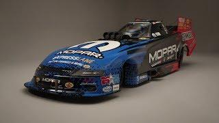 Mopar Dodge Charger SRT Hellcat NHRA Funny Car | Final Product B-Roll