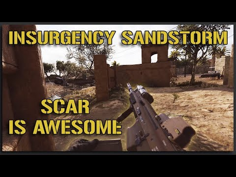 My Favorite Weapon in the Game (SCAR Gameplay) - Insurgency Sandstorm Gameplay |