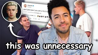 The Problem With Jake Paul Confronting Cody Ko