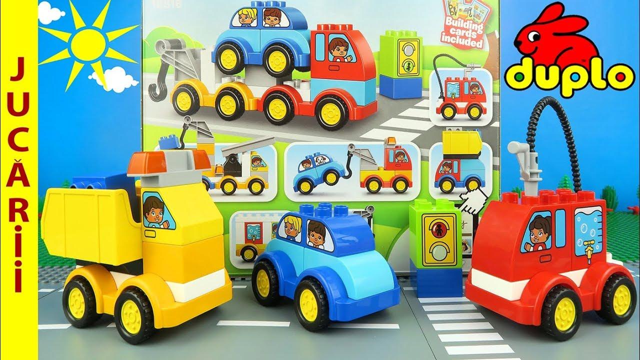 LEGO DUPLO - Primele mele masini si camioane ? Jucarii pentru copii