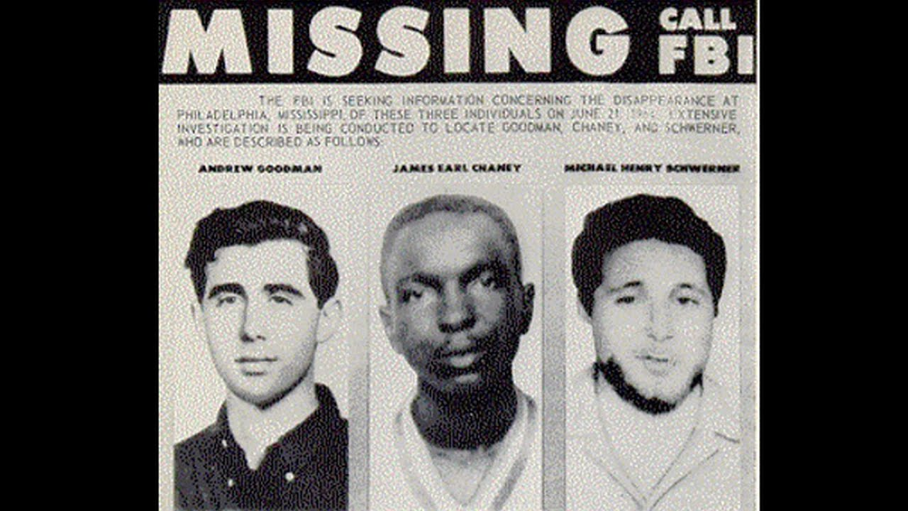 mississippi murders 1964 Andrew goodman 1943-1964, murder in mississippi andrew goodman was born in new york city on 23rd november, 1943 while studying at queens college in new york.