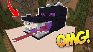CASA ENDER DRAGON GIGANTE!! (Minecraft Build Battle)