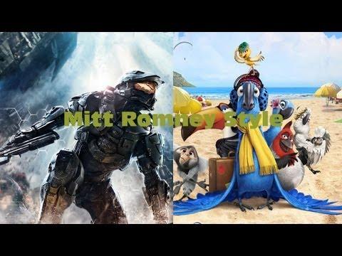 AMV - Rio and Halo 4 - Mitt Romney Style