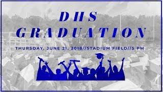 Darien High School Graduation - Class of 2018