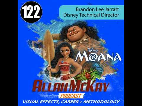 122 -- Brandon Jarratt -- Disney Technical Director