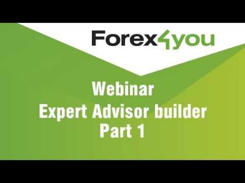 Webinar about Expert Advisor writting - part 1