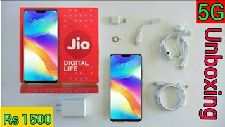 Jio phone 3 unboxing and First look || book Jio phone 3 || price rs 1500 || camera 25 mp || ram 6gb