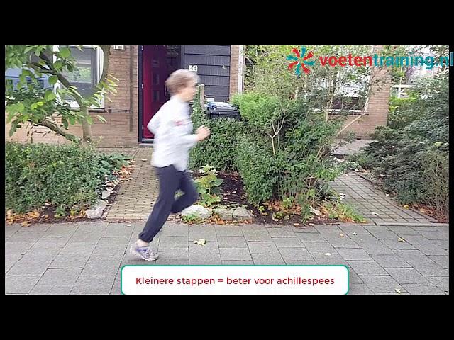 Achillespeesklachten voorkomen met deze looptechniek voor hardlopen