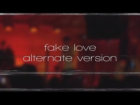 EDEN – nowhere else // fake love (alternate version) unreleased song (lyric video)
