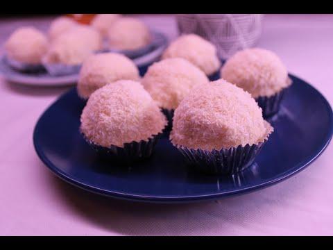 gâteau-sans-cuisson-façon-raffaelo-#gateau_eid-#recette_facile