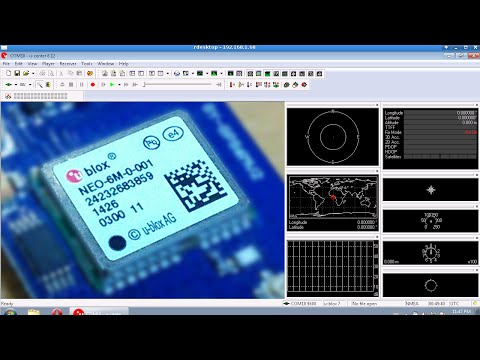 10Hz U-blox binary GPS data in 66 lines of code (arduino)