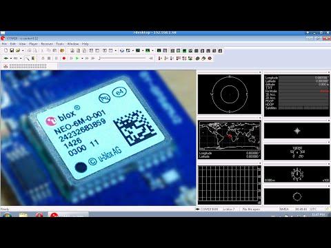 10Hz U-blox binary GPS data in 66 lines of code (arduino)
